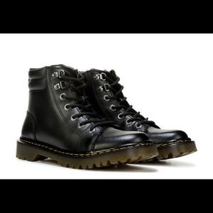 Dr. Martens Leather Combat Boot
